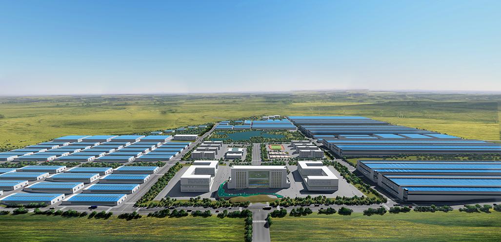 致力于打造绿色矿山、花园式工厂